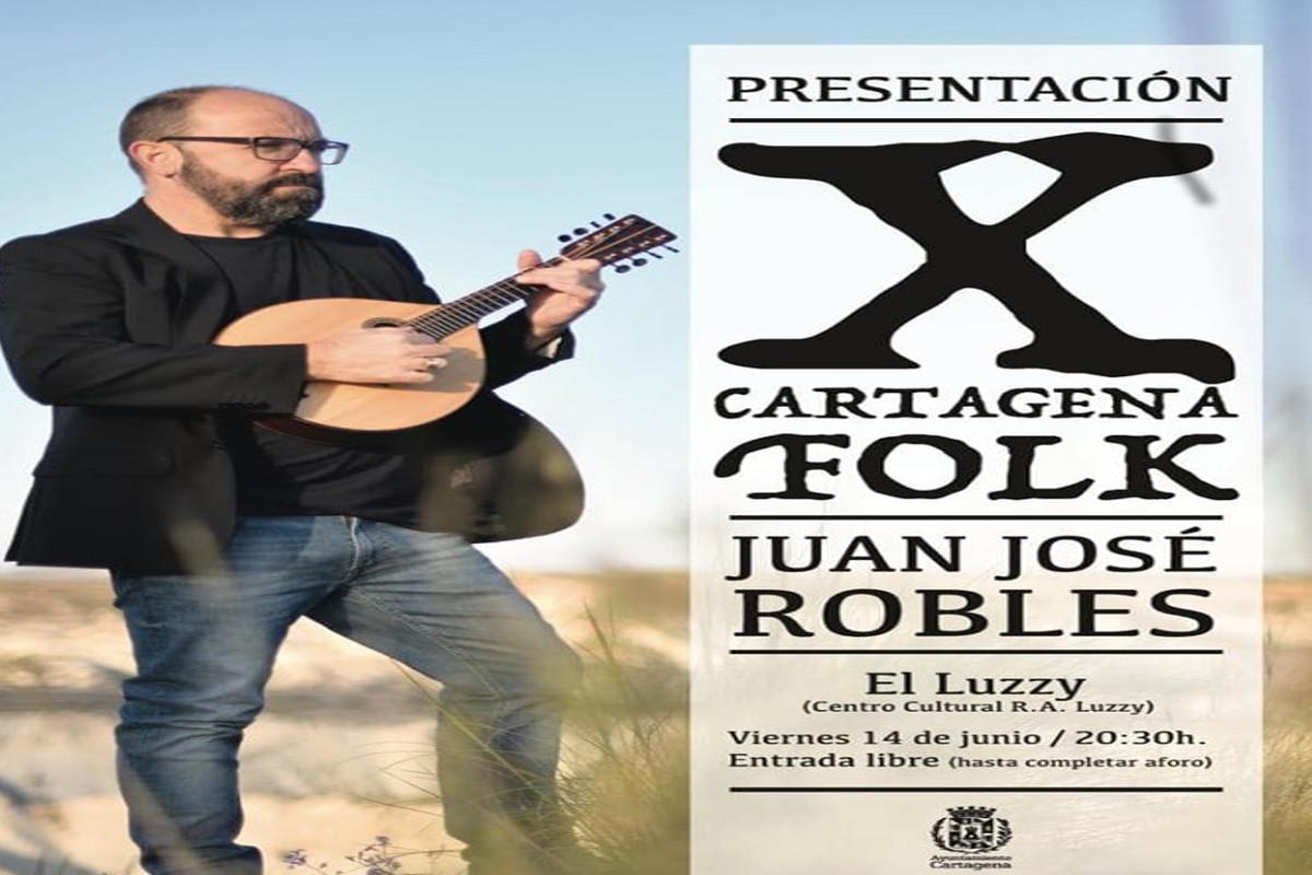 Festival Cartagena Folk: Concierto de presentación