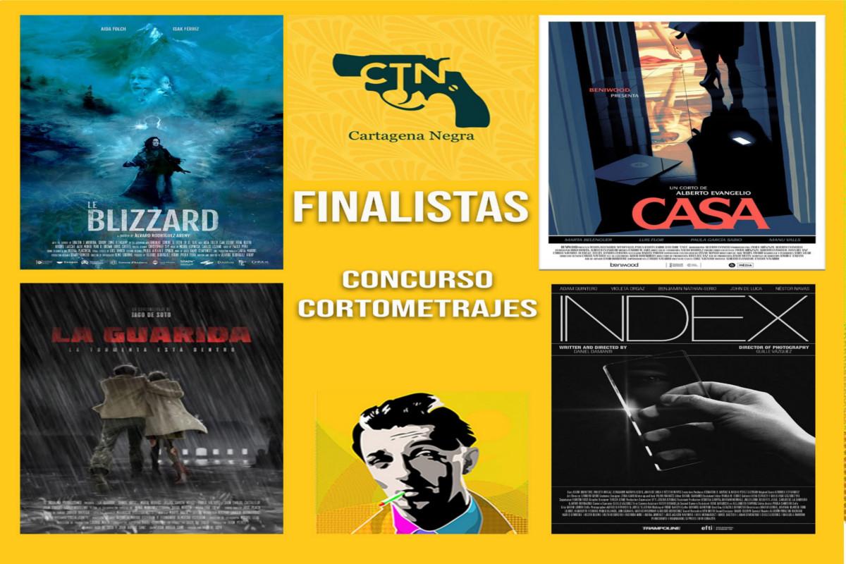Concurso de cortos cine negro, misterio o thriller: Jornadas Cartagena Negra