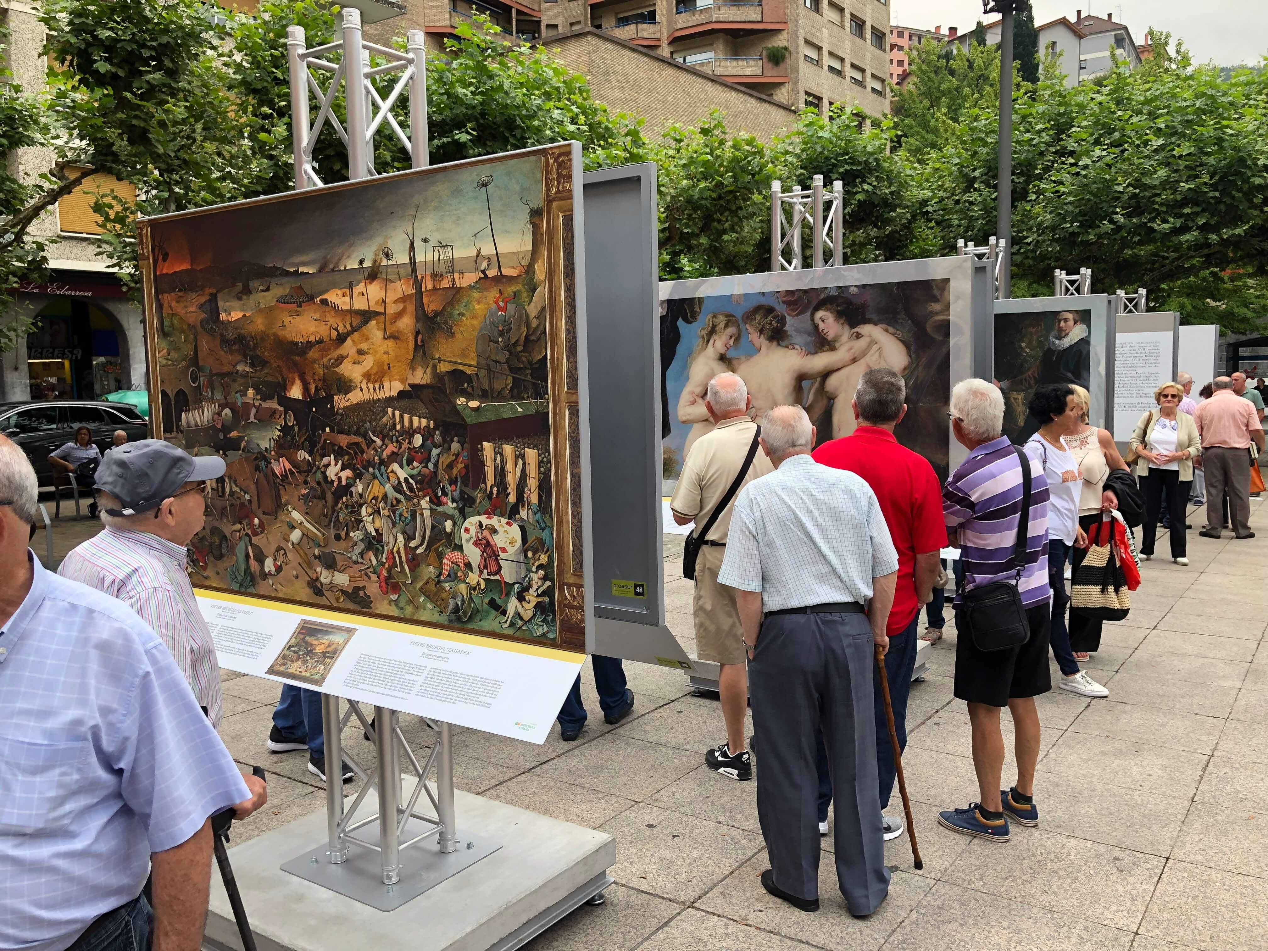 EXPOSICION: El Museo del Pardo en las calles