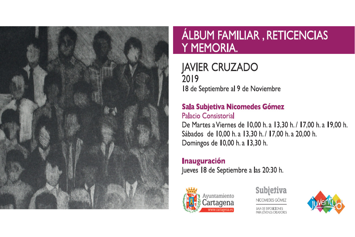 Exposición Sala Subjetiva Palacio Consistorial: 'Álbum familiar, reticencias y memoria'