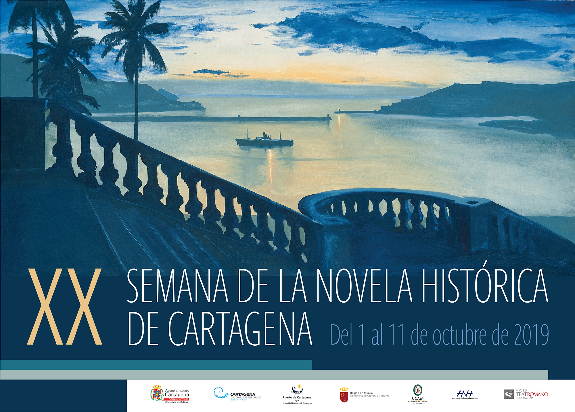 XX Semana de la Novela Histórica de Cartagena