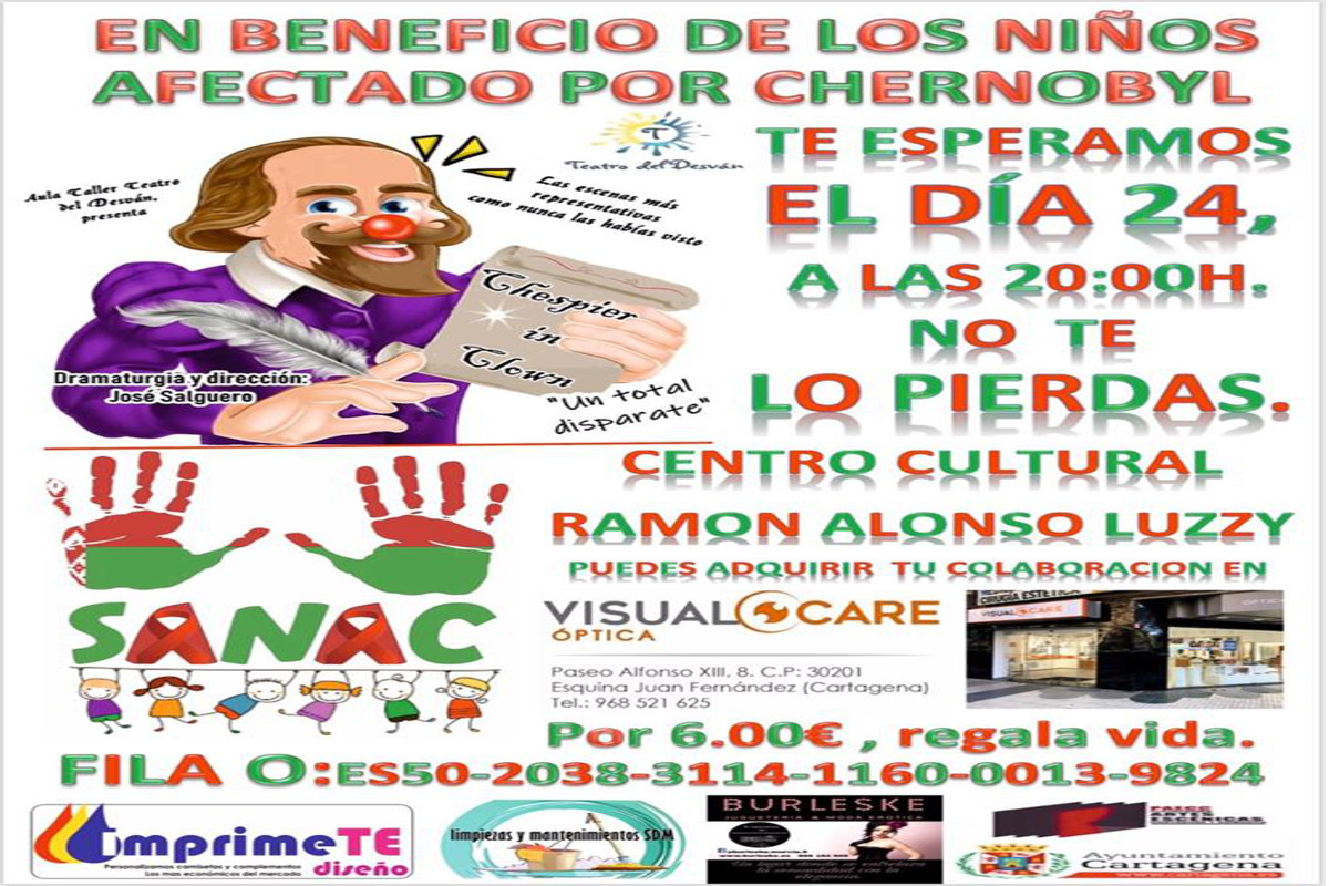 TEATRO Chespier in Clown a beneficio de los niños de Chernobil