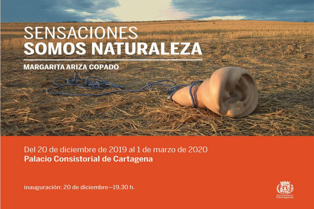 EXPOSICION: SENSACIONES, SOMOS NATURALEZA Margarita Ariza Copado. Palacio Consistorial.