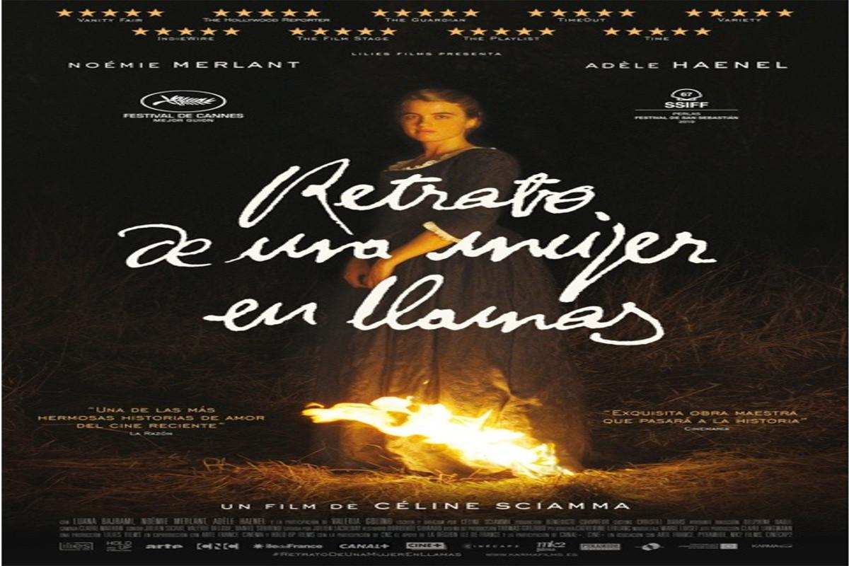 La FICCMOTECA del Luzzy: RETRATO DE UNA MUJER EN LLAMAS (Portrait de la jeune fille en feu. Francia, 2019)