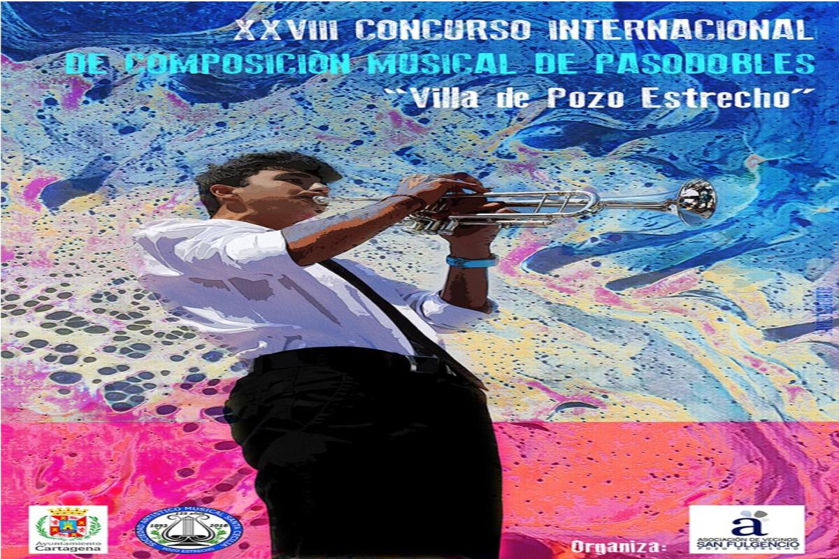 XXVIII Concurso Internacional de composición musical de pasodobles Villa de Pozo Estrecho