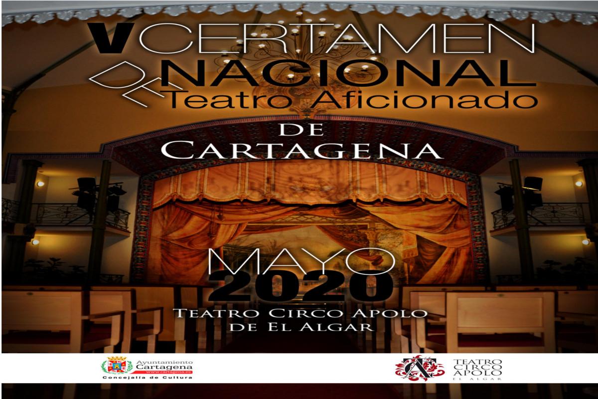 El V Certamen Nacional de Teatro Aficionado de Cartagena