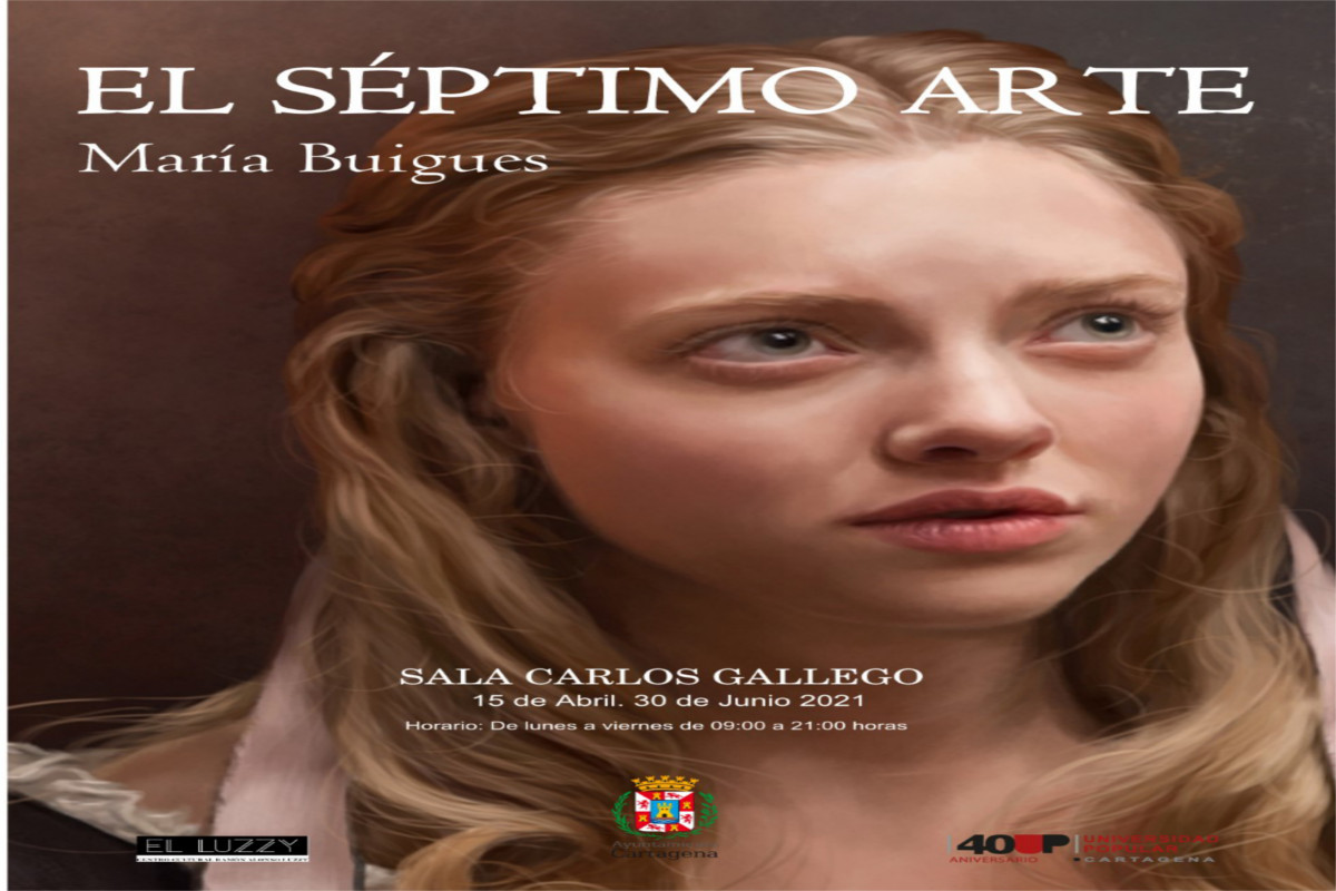EXPOSICIÓN: EL SÉPTIMO ARTE de María Buigues