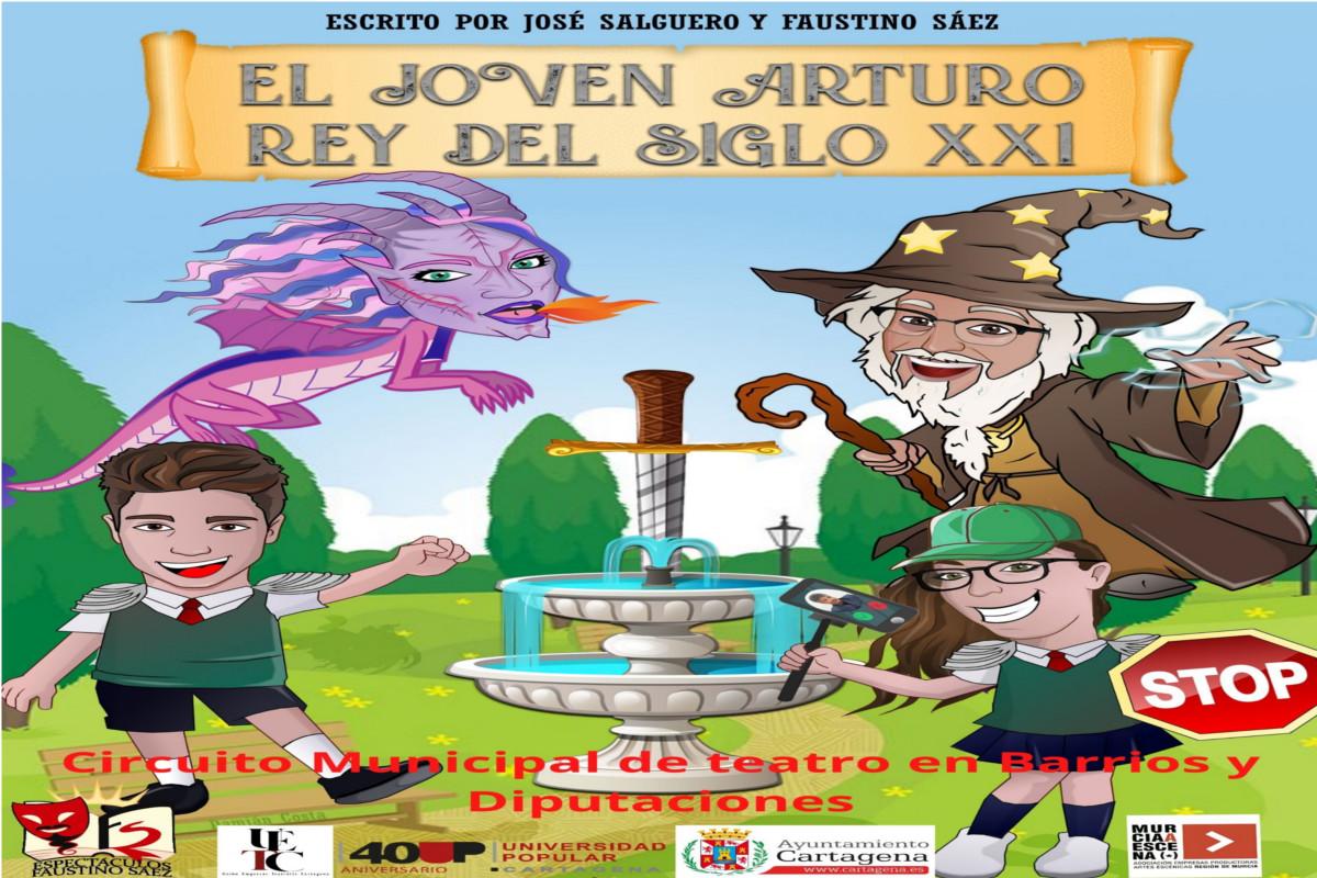 TEATRO EL JOVEN ARTURO REY DEL SIGLO XXI EN EL MUSEO ARQUEOLÓGICO MUNICIPAL