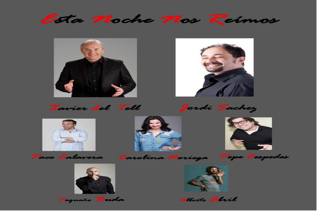 NOCHES DE SAL EN EL AUDITORIO PACO MARTÍN: NOCHES DE COMEDIA Y HUMOR CON JORDI SÁNCHEZ Y XAVIER DEL TELL + HUMORISTAS INVITADOS