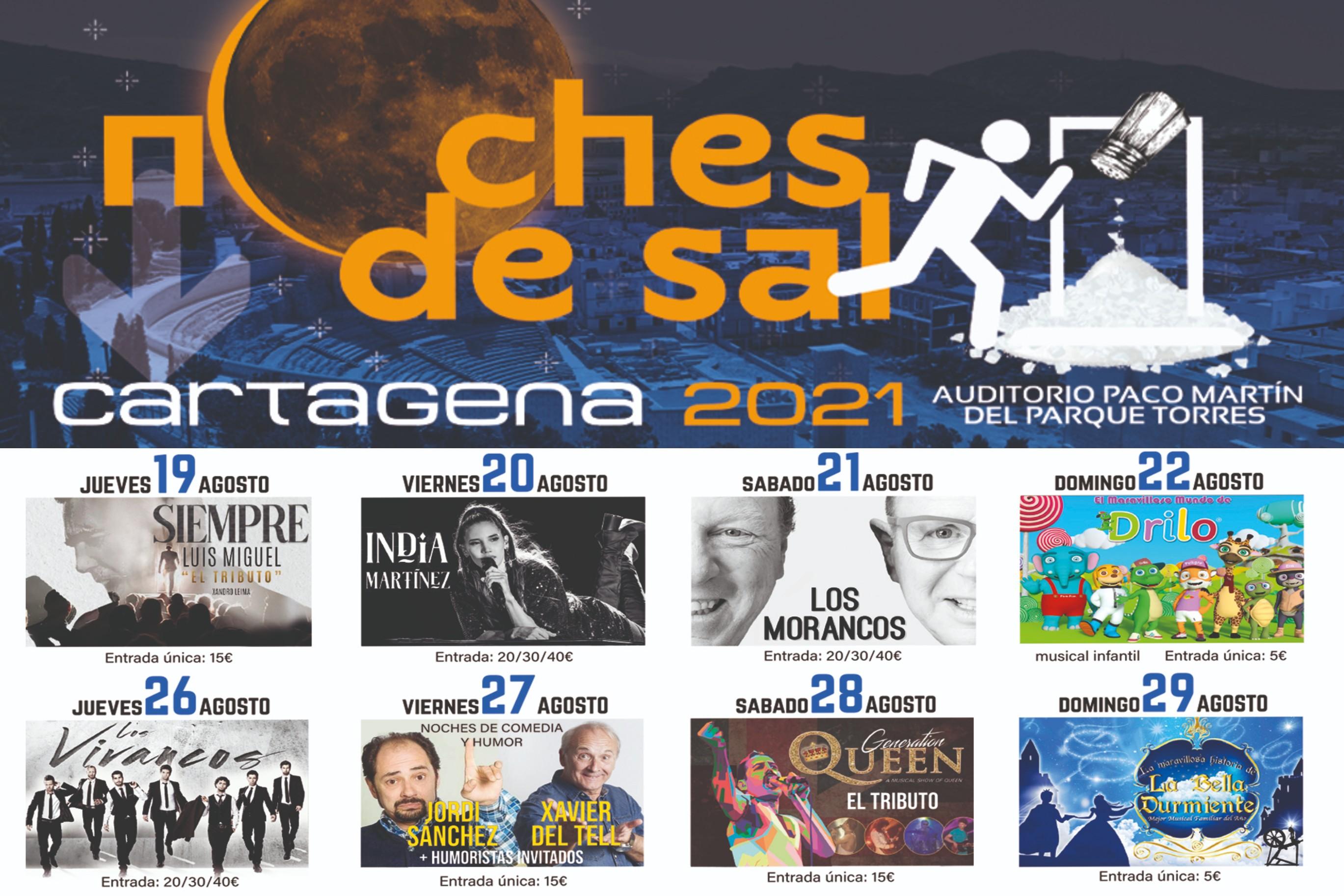 Conciertos NOCHES DE SAL: Auditorio Paco Martín