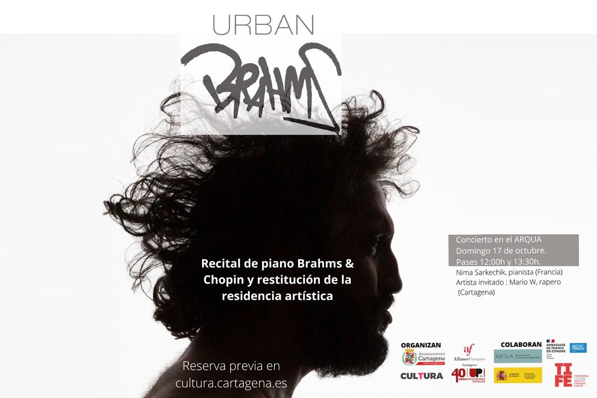 URBAN BRAHMS: Recital de piano Brahms y Chopin