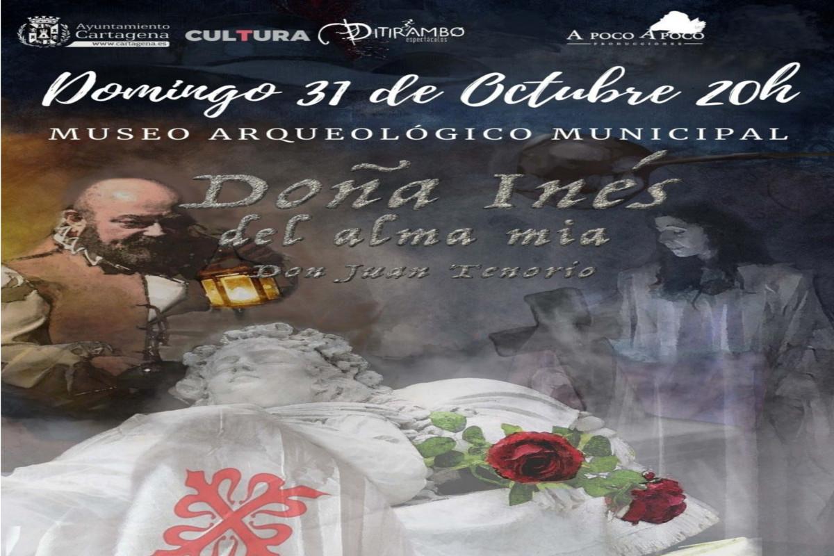 Doña Inés del alma mía Jardín Museo Arqueológico